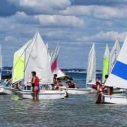 Opticup – 47 bateaux en régate