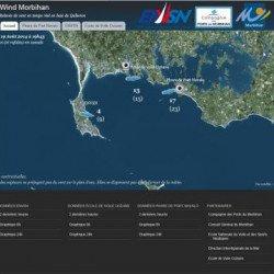 Baie de Quiberon. Windmorbihan.com, les conditions météo en temps réel.