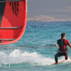Championnat de France de kite-surf à Saint-Pierre Quiberon