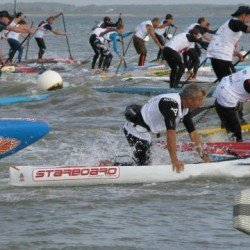 Paddle : Des conditions musclées au départ ce week end