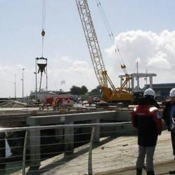 Les travaux à Port Haliguen 1 terminés fin mai