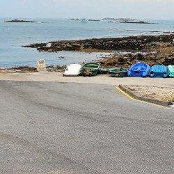 Port de Portivy. La barrière sera remise le 1e r juin
