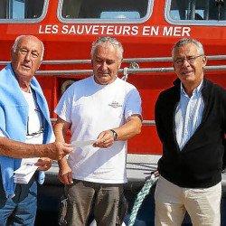 Pêcheurs et plaisanciers de Portivy: 250 € pour la SNSM