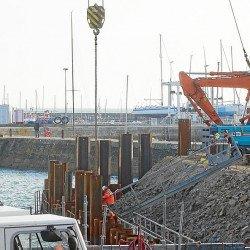 Port Haliguen. Un ponton mobile de 32 m