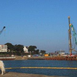 Port Haliguen: Les travaux maritimes du port achevés en 2019