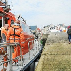 Naufrage. Quatre hommes secourus en mer