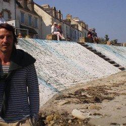 Du land art à l'italienne au port de Portivy
