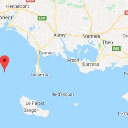 La terre a tremblé entre Belle-Ile-en-Mer et Groix