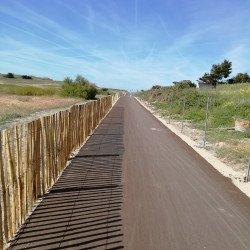 Invitation à l'ouverture festive de la voie verte à l'Isthme
