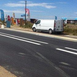 Isthme: la Piste cyclable déjà envahie par les voitures