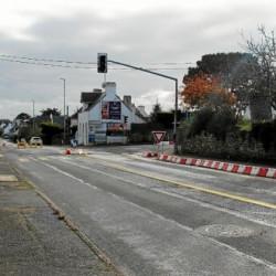 La départementale du carrefour du Roch fermée à la circulation
