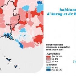 Le pays d'Auray et les îles ont gagné 3 302 habitants