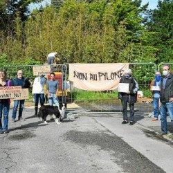 À Saint-Pierre-Quiberon, l'opposition au pylône-arbre s'affiche