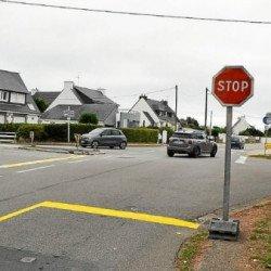La signalétique modifiée à Portivy pour fluidifier le trafic à Saint-Pierre-Quiberon