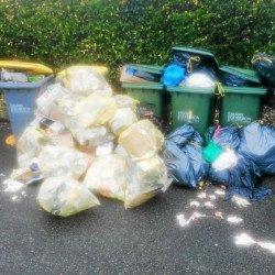 Le jour de ramassage des poubelles est il adapté à une ville touristique