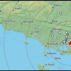 Un tremblement de terre a secoué Vannes mercredi
